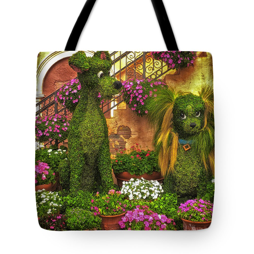 Flowers Tote Bag featuring the photograph Puppy Love by Thomas Woolworth