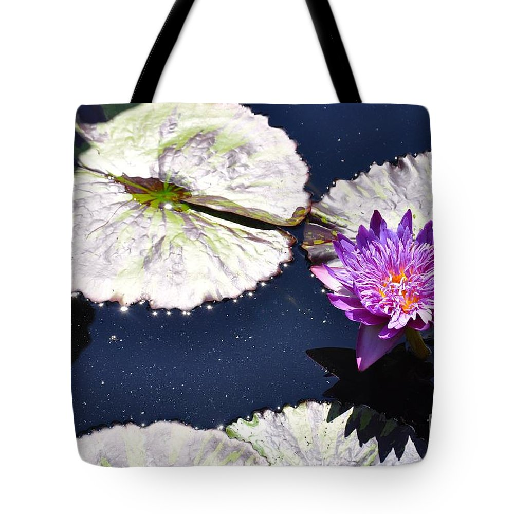 Purple Tote Bag featuring the photograph Purple Bliss by Christina McKinney