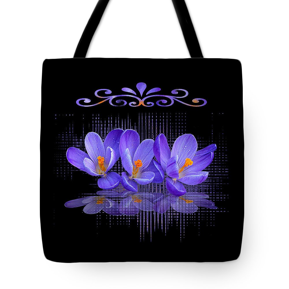 Purple Tote Bag featuring the photograph Purple Passion by Gill Billington