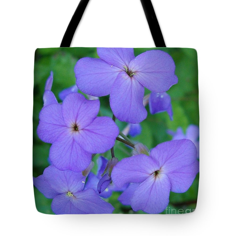 Flowers Tote Bag featuring the photograph Purple Passion by Sara Raber