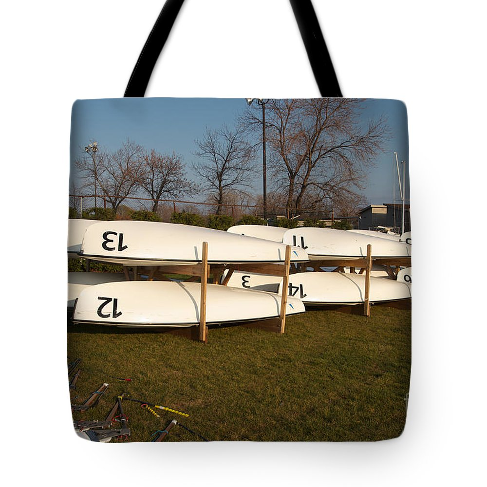 420s Tote Bag featuring the photograph Putting The Toys Away by William Norton