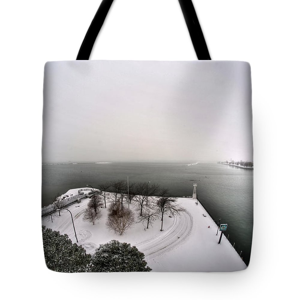 Buffalo Tote Bag featuring the photograph Queen City Winter Wonderland After The Storm Series 0034 by Michael Frank Jr