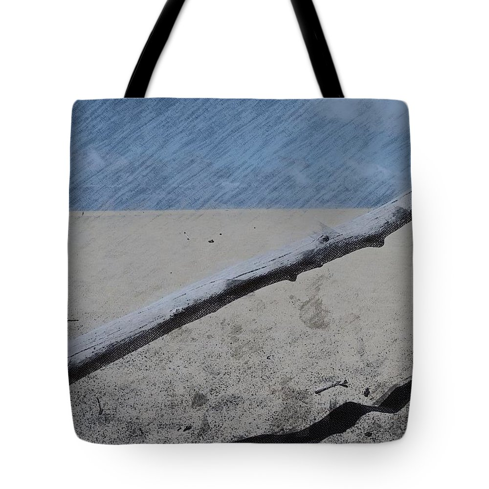 Beach Tote Bag featuring the photograph Quiet Beach by Photographic Arts And Design Studio