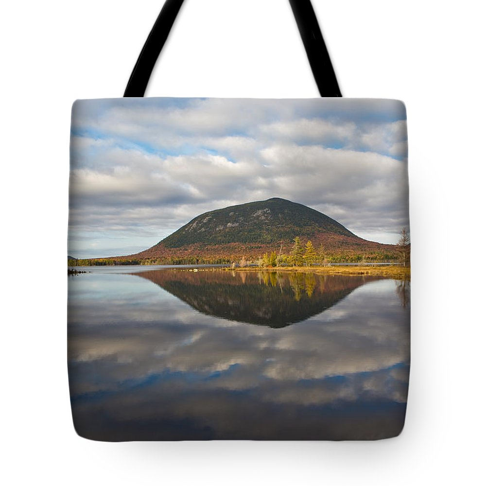 Landscape Tote Bag featuring the photograph Quiet Waters 1507 by Brent L Ander