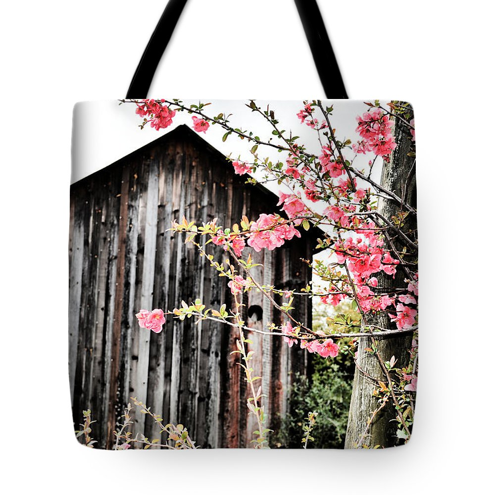 Quince Tote Bag featuring the photograph Quince Dreams by Spencer Hughes