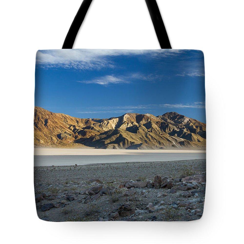 California Tote Bag featuring the photograph Racetrack Playa 5 by Dan Hartford