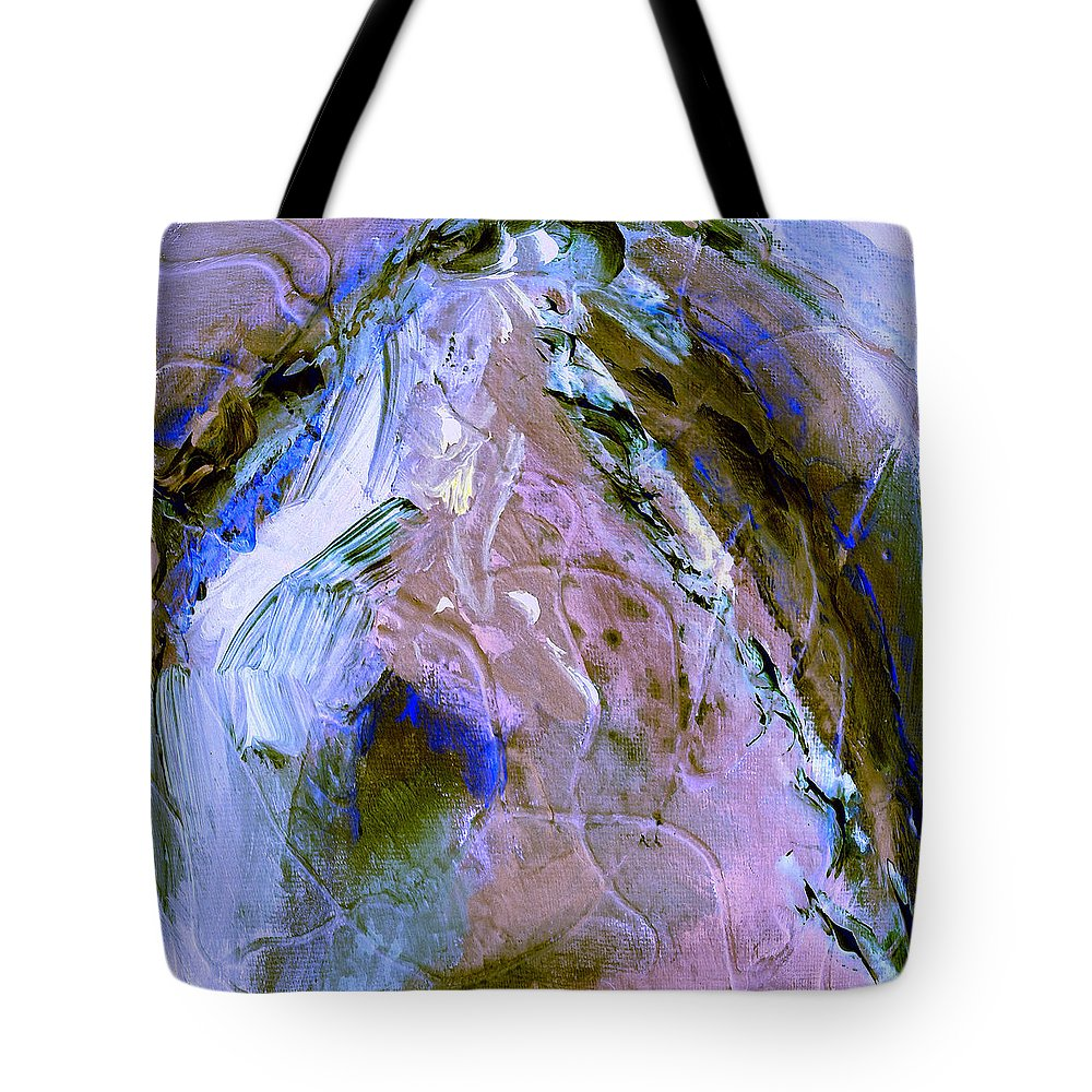 Rain Tote Bag featuring the painting Rain Dancer by Dominic Piperata