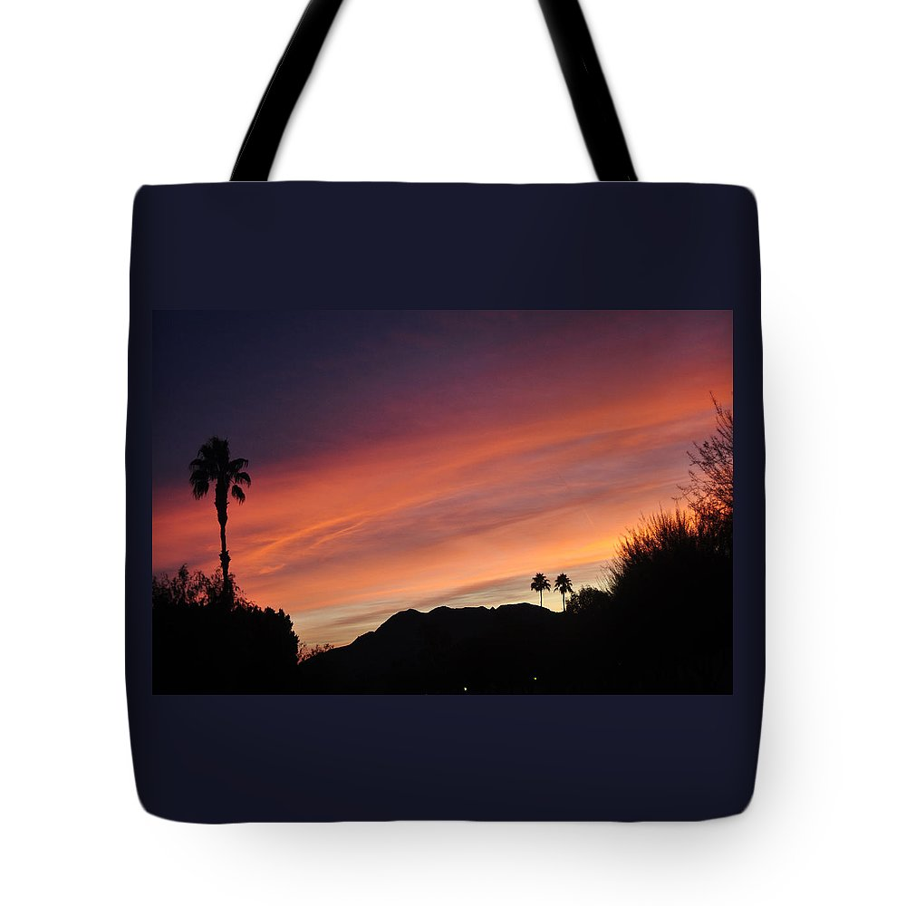 Rainbow Tote Bag featuring the photograph Rainbow Sky 2 by Jay Milo