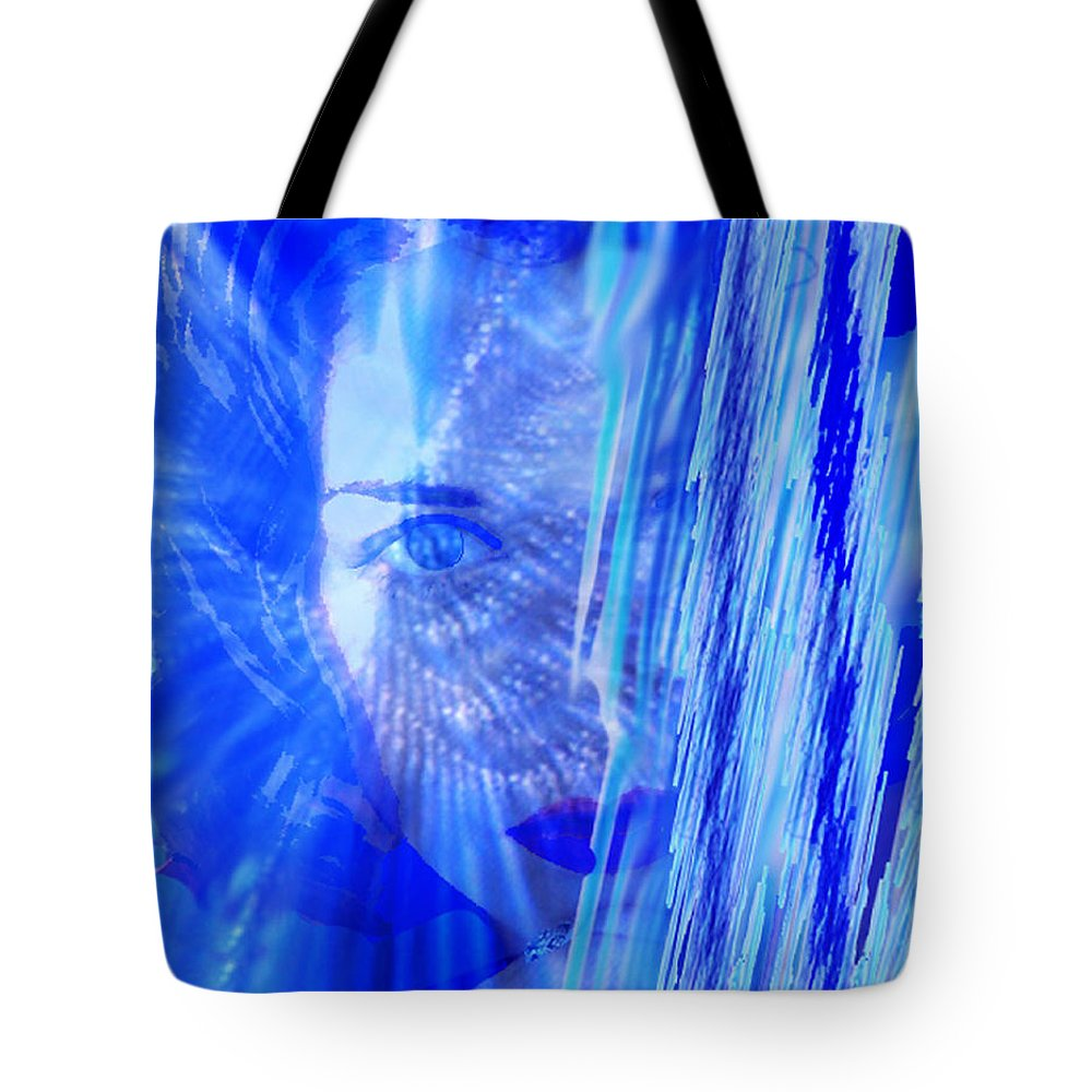 Rainy Day Dreams Tote Bag featuring the digital art Rainy Day Dreams by Seth Weaver