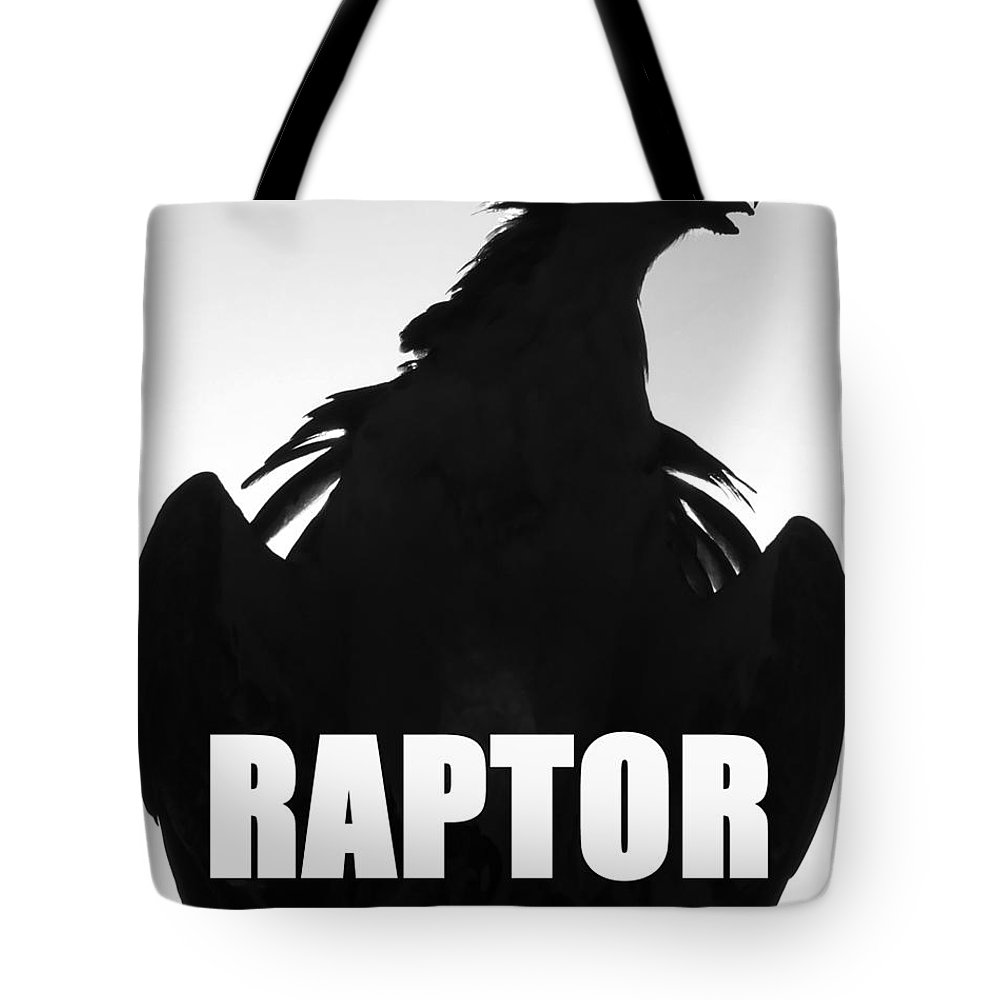 Smart Phone Case Art Tote Bag featuring the photograph Raptor Spc Work A by David Lee Thompson