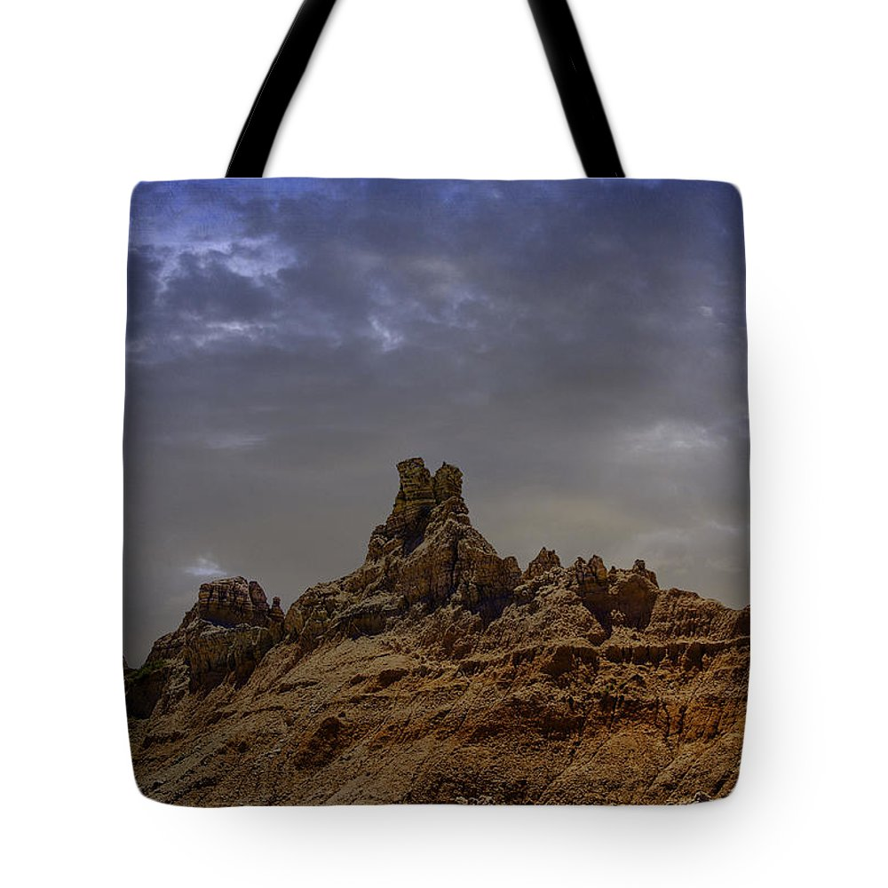 South Dakota Tote Bag featuring the photograph Ravages Of Time And Weather by Judy Hall-Folde