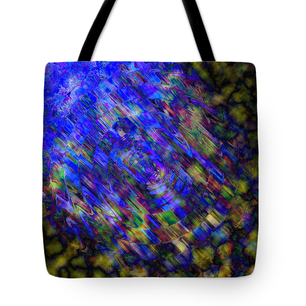 Blue Tote Bag featuring the painting Ray Of Light by Alli Cullimore