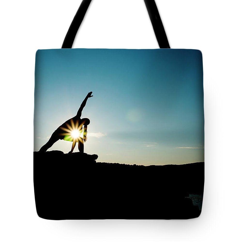 Funky Tote Bag featuring the photograph Reach For The Sky by Subman
