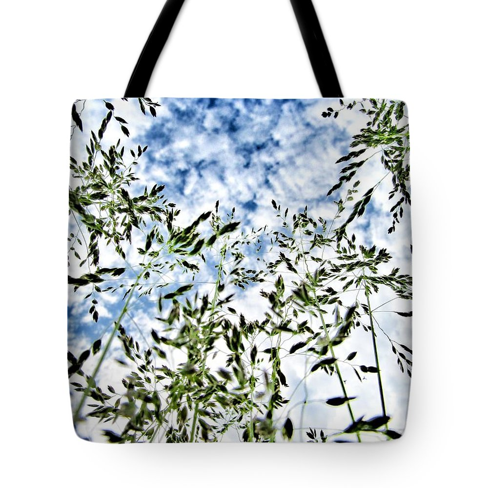Reach To The Sky Tote Bag featuring the photograph Reach To The Sky by Marianna Mills