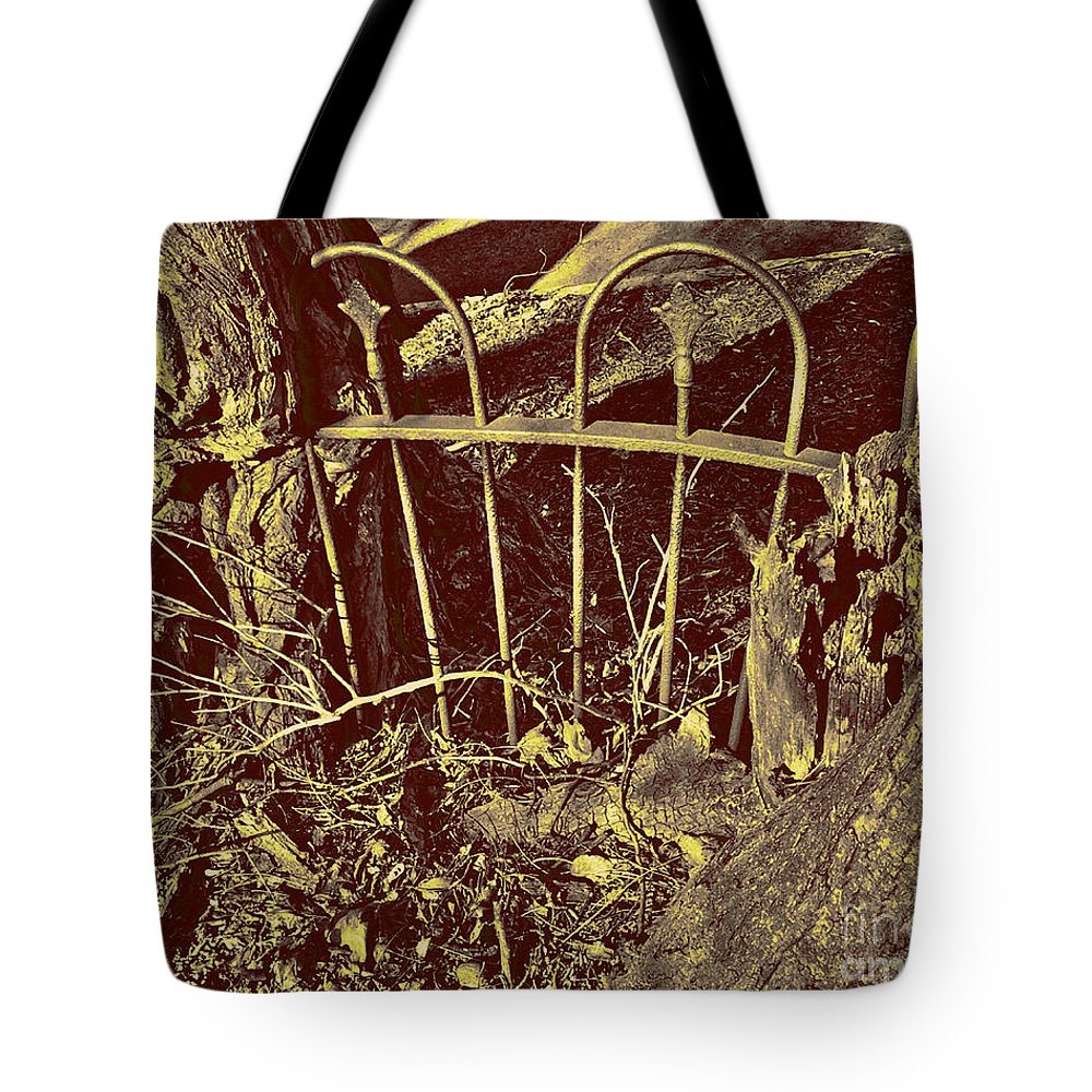 Overgrown Tote Bag featuring the photograph Reaching Impasse by CR Leyland