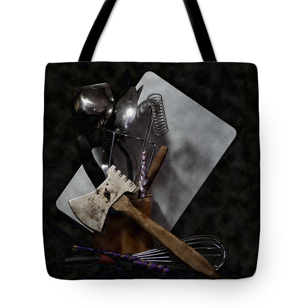 Cleaver Tote Bag featuring the photograph Ready To Cook by Crystal Harman