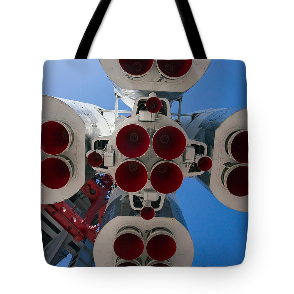 Aerospace Tote Bag featuring the photograph Ready To Start by Alexander Senin
