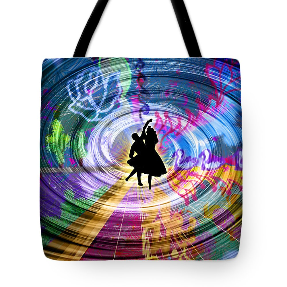 Guest Room Tote Bag featuring the digital art Real City Beat by Artist Nandika Dutt