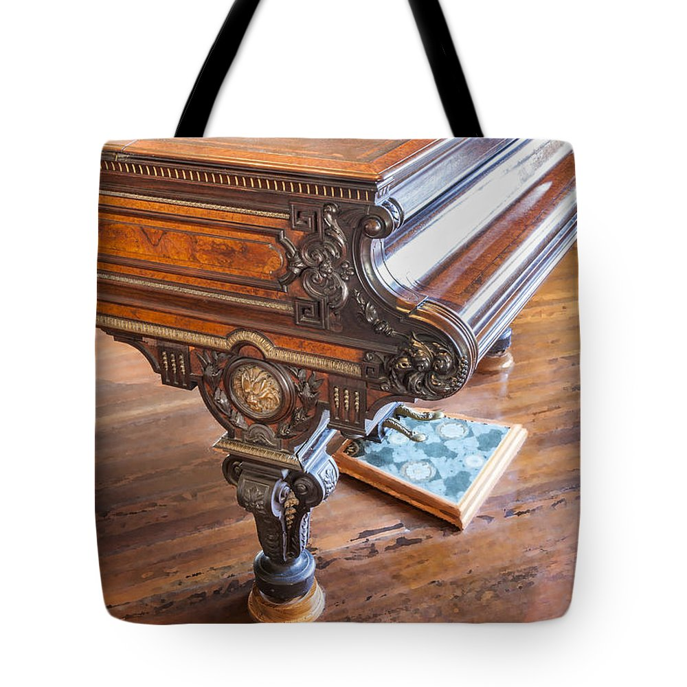 Chickering Piano Tote Bag featuring the photograph Really Grand by Rich Franco