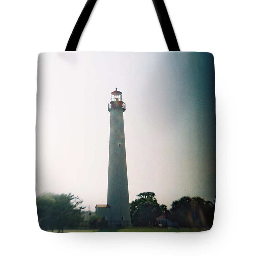 Recesky Tote Bag featuring the photograph Recesky - Cape May Point Lighthouse 3 by Richard Reeve
