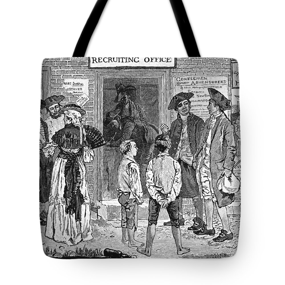1778 Tote Bag featuring the photograph Recruitment, C1778 by Granger