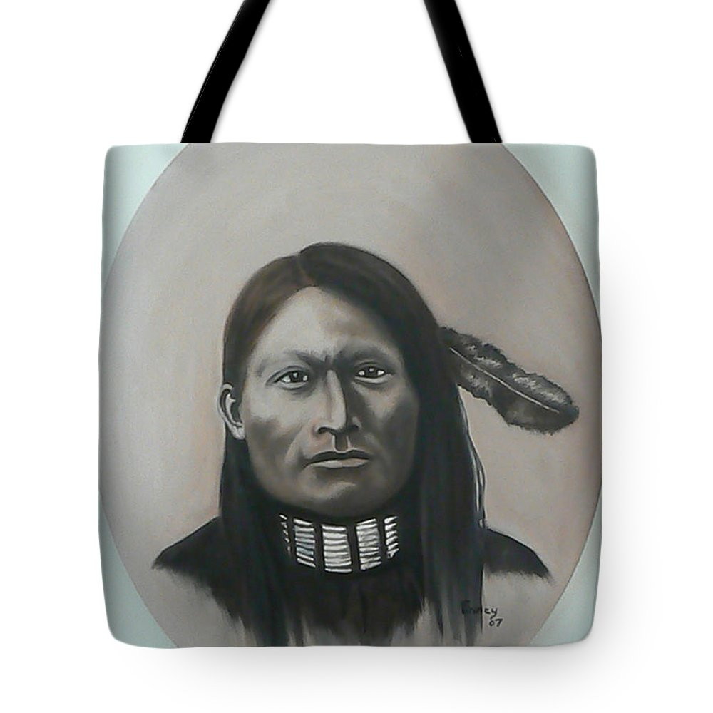 Michael Tote Bag featuring the painting Red Armed Panther by Michael TMAD Finney