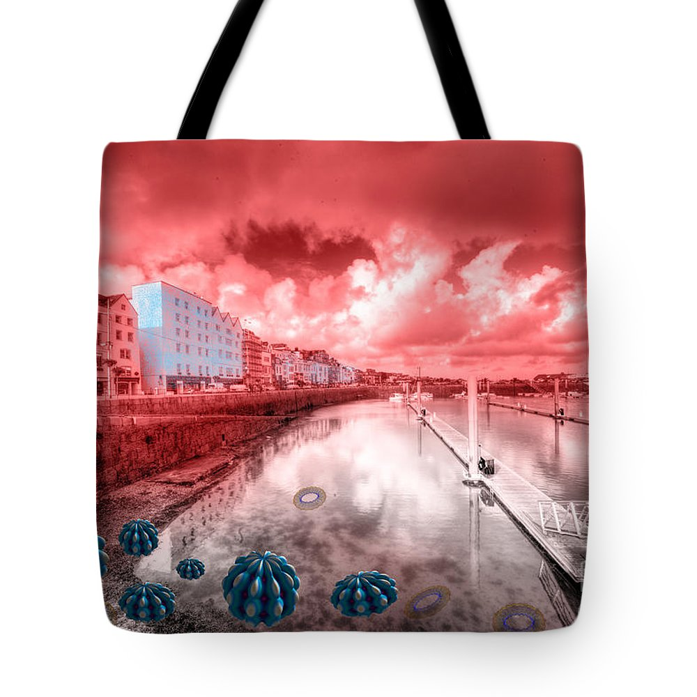 St Tote Bag featuring the photograph Red Harbouring by Rob Hawkins
