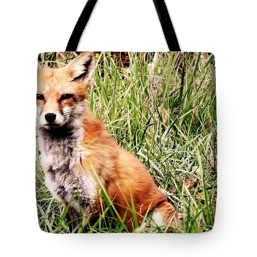 Photo Tote Bag featuring the photograph Red October by Tami Quigley