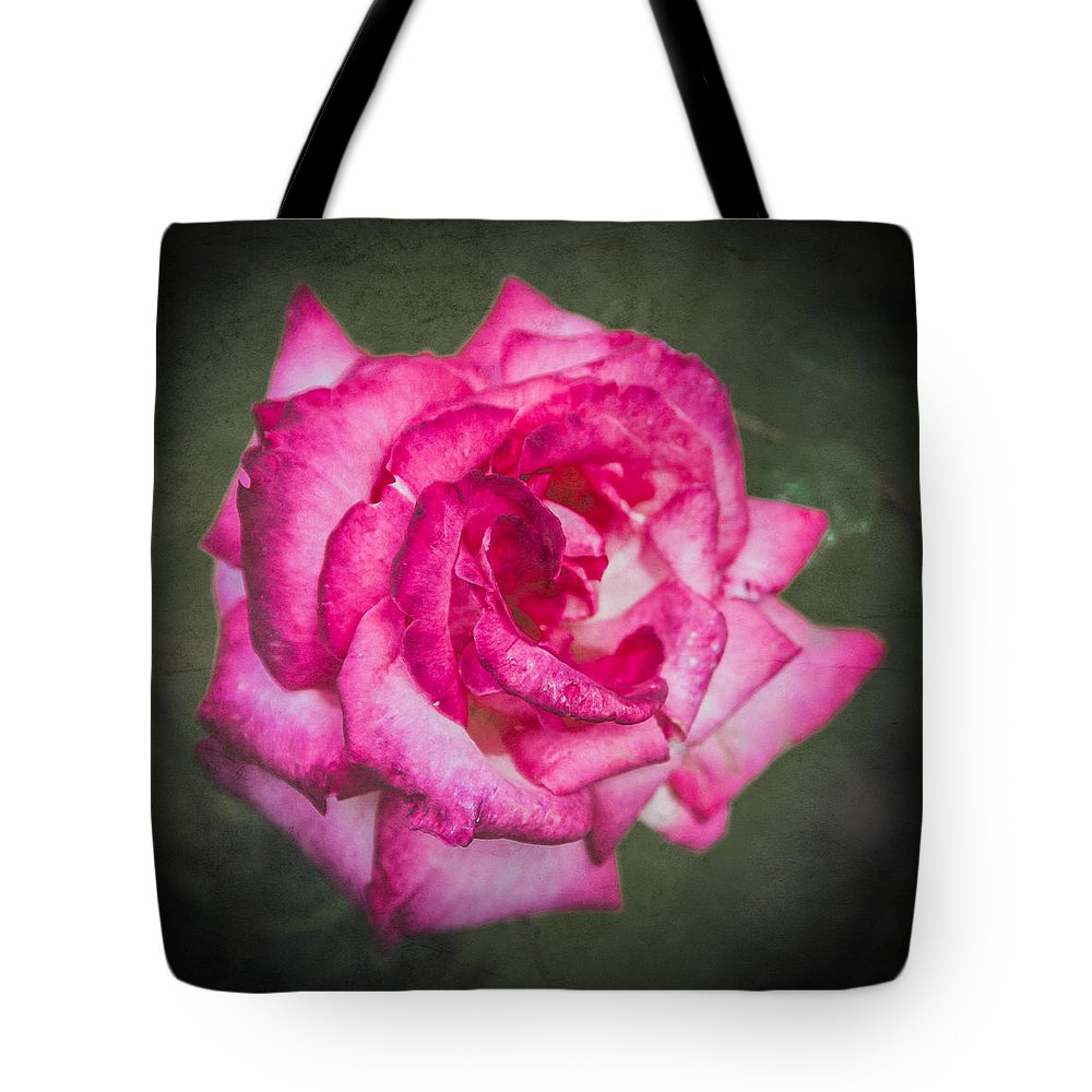Bush Tote Bag featuring the photograph Red Rose by Mark Llewellyn