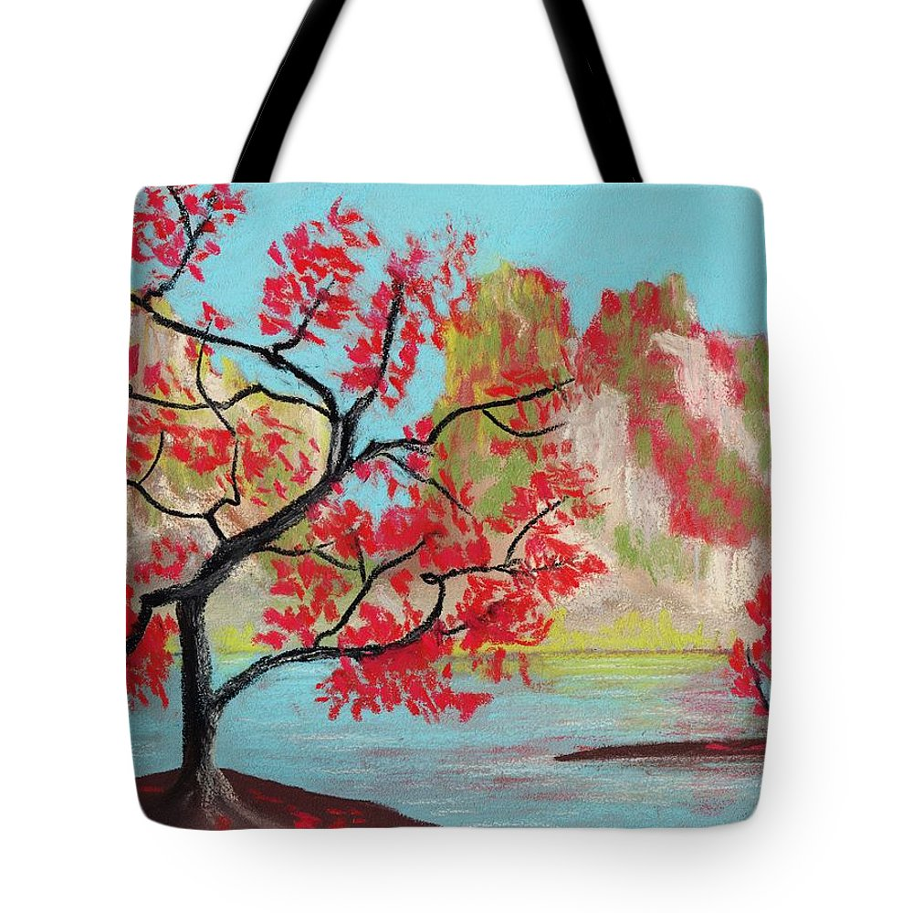 Strange Land Paintings Tote Bags
