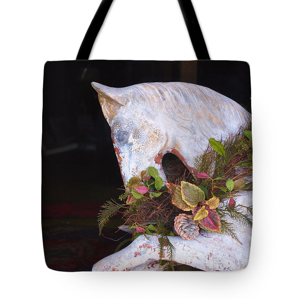 Antiques Tote Bag featuring the photograph Reflect by Jan Amiss Photography