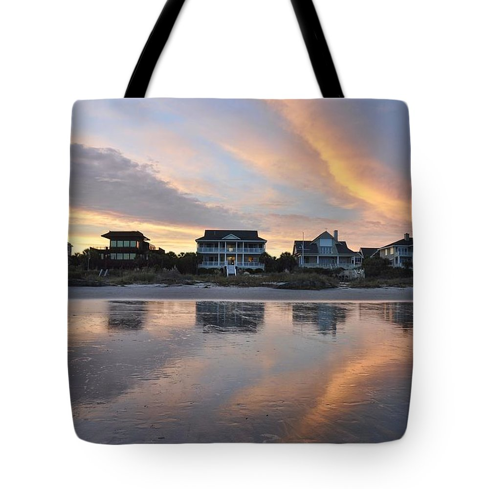 Reflection Tote Bag featuring the photograph Reflect On This by Rich Bodane