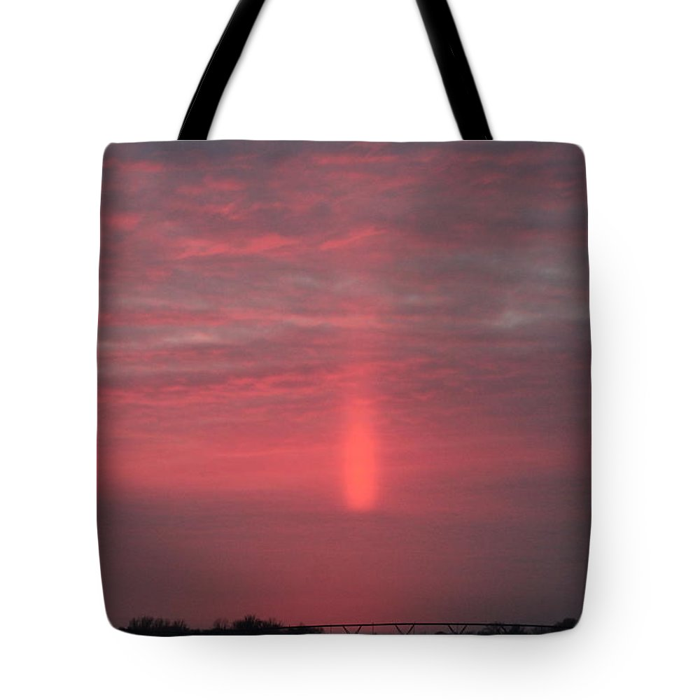Sunsets Tote Bag featuring the photograph Reflection After Sunset by Wayne Williams