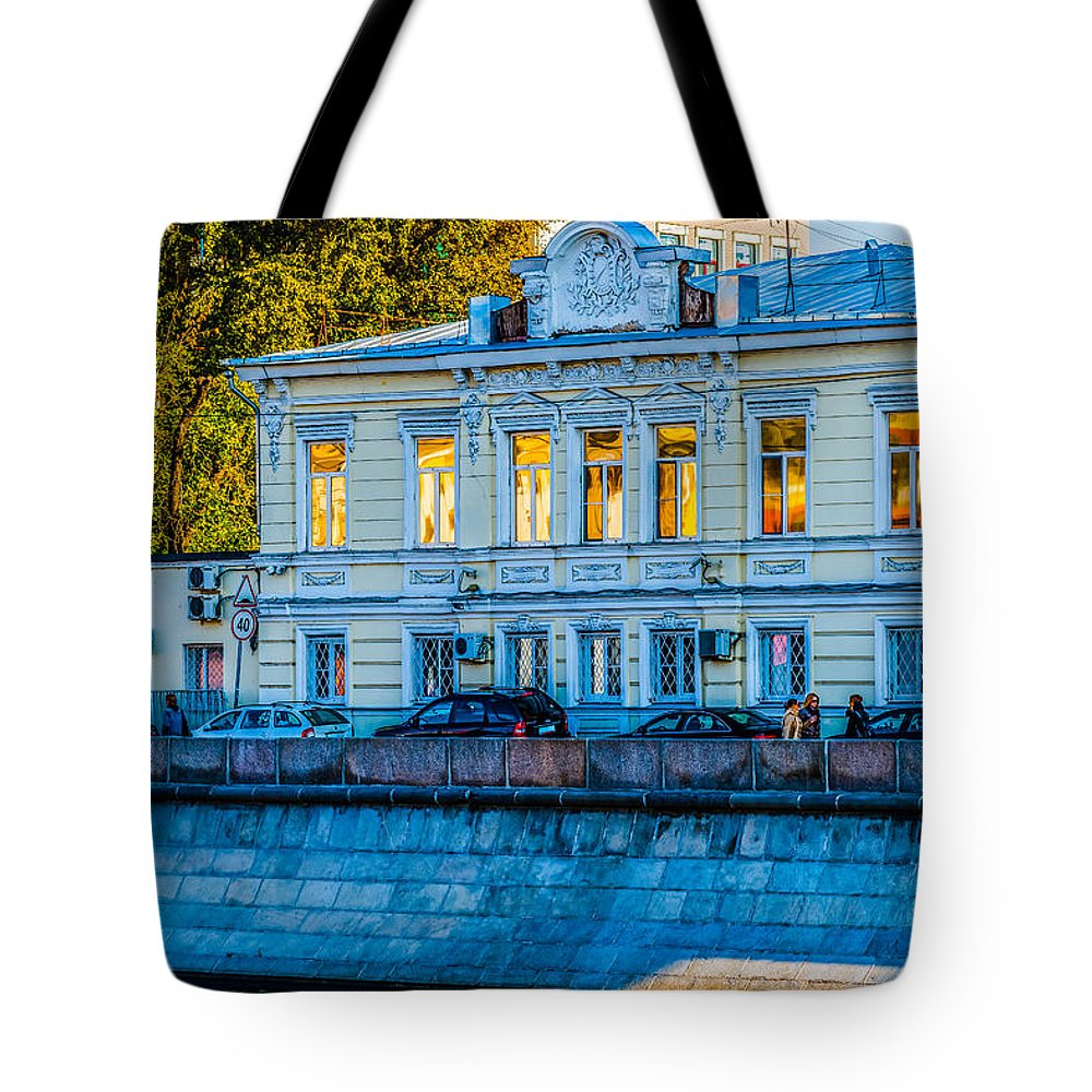 Moscow Tote Bag featuring the photograph Reflections by Alexander Senin