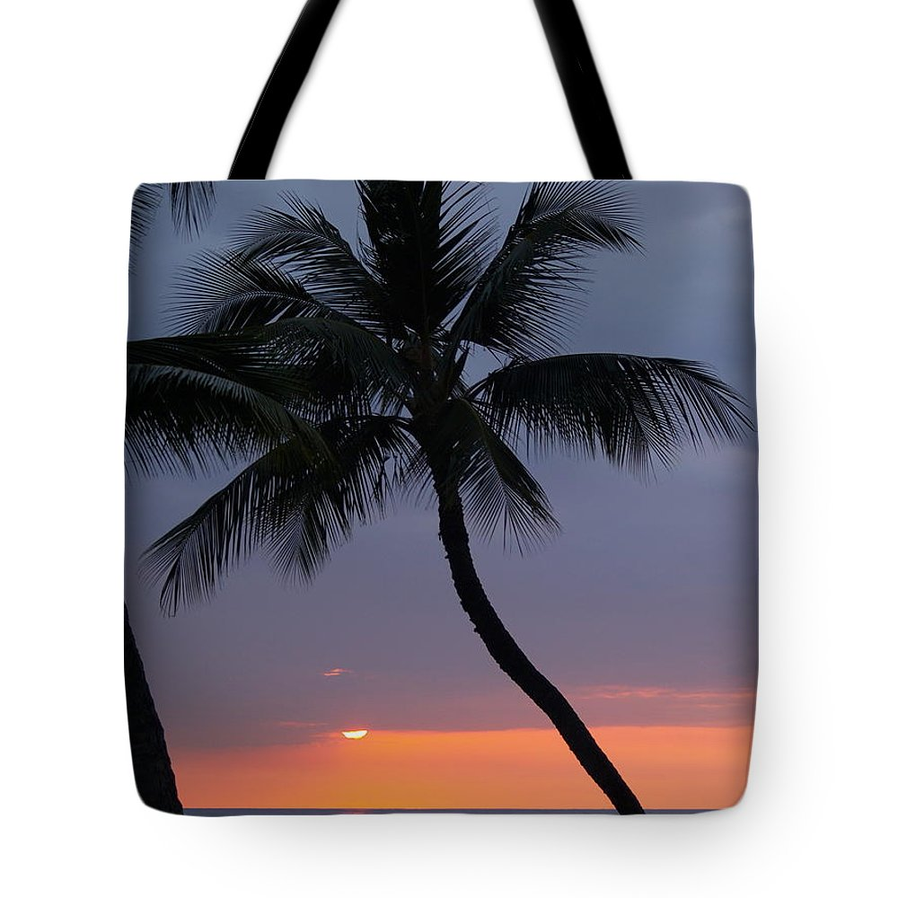 Sunset Tote Bag featuring the photograph Reflections by Athala Carole Bruckner