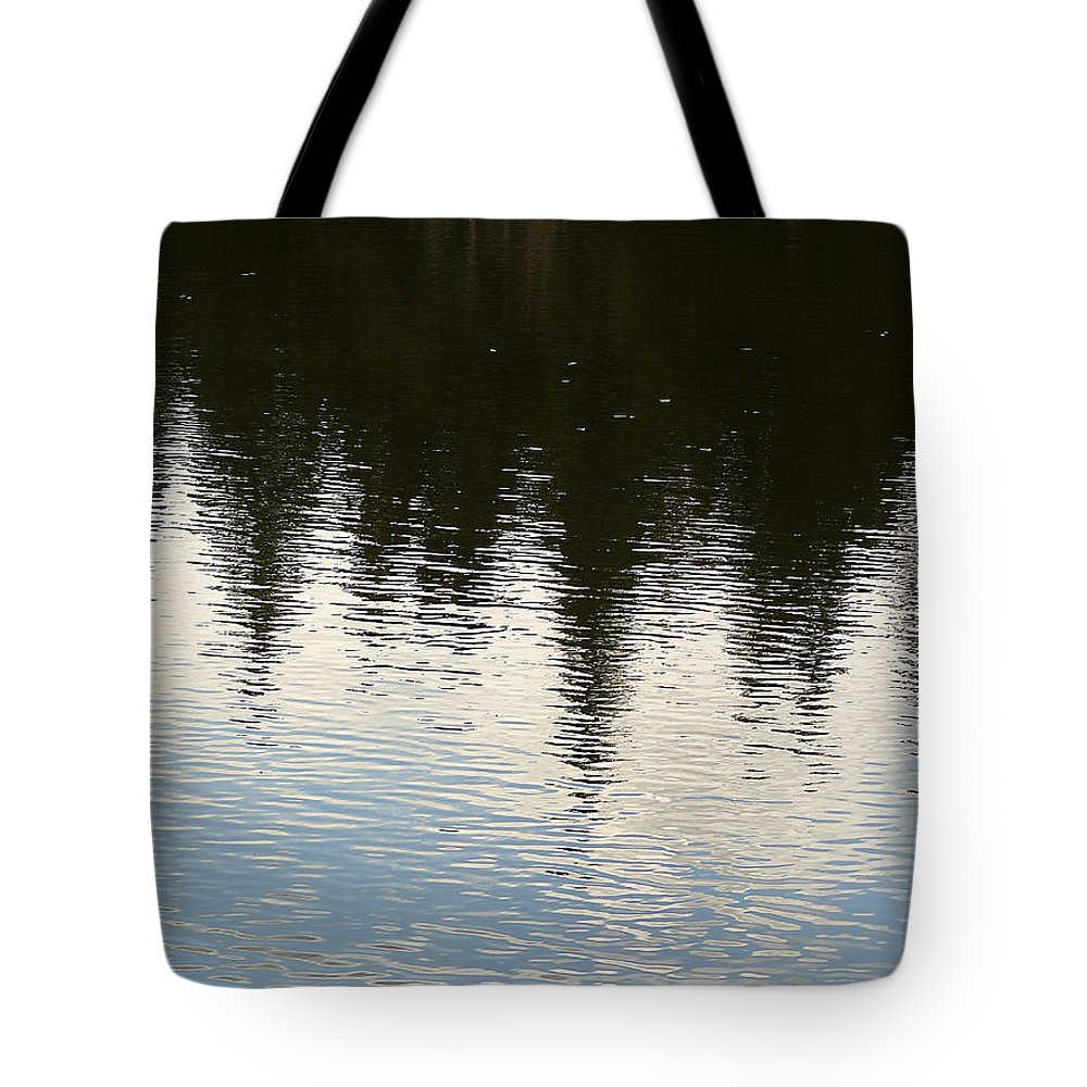 Nature Tote Bag featuring the photograph Reflections by David Kehrli