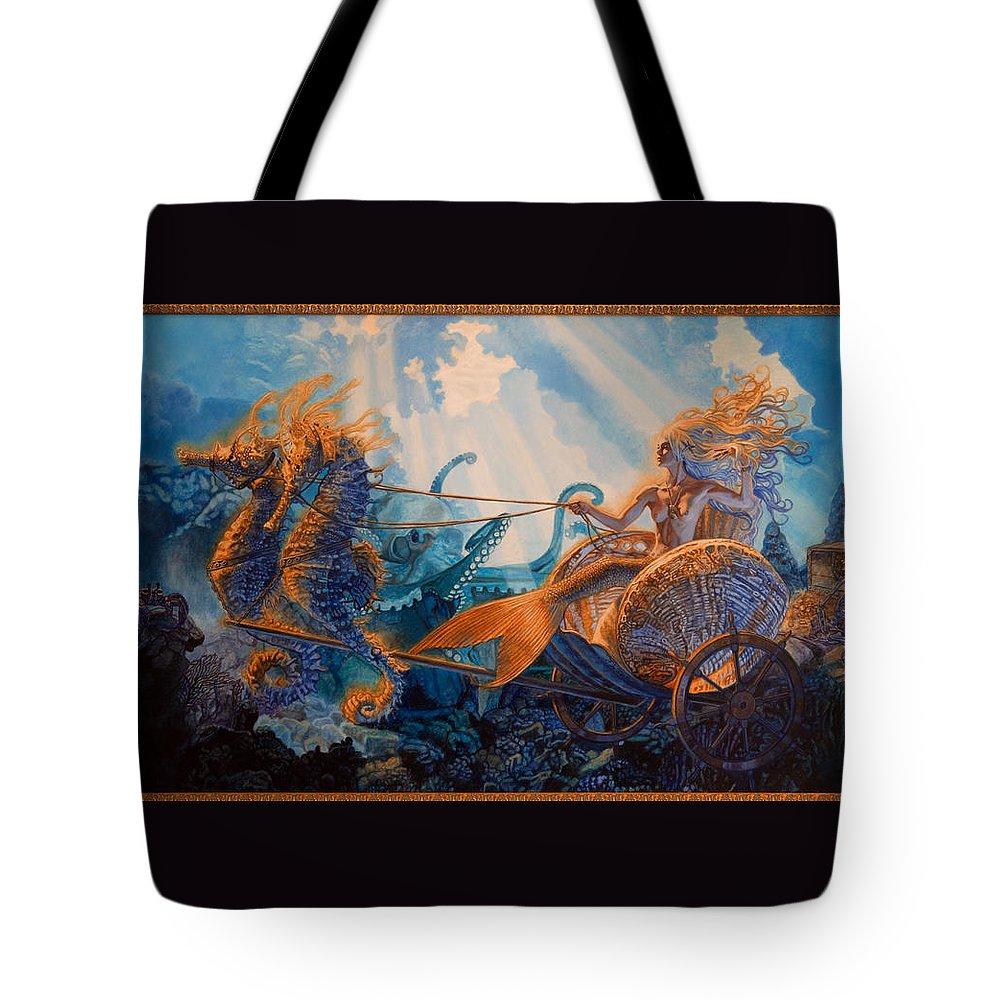 Whelan Tote Bag featuring the painting Regina Maria by Patrick Whelan