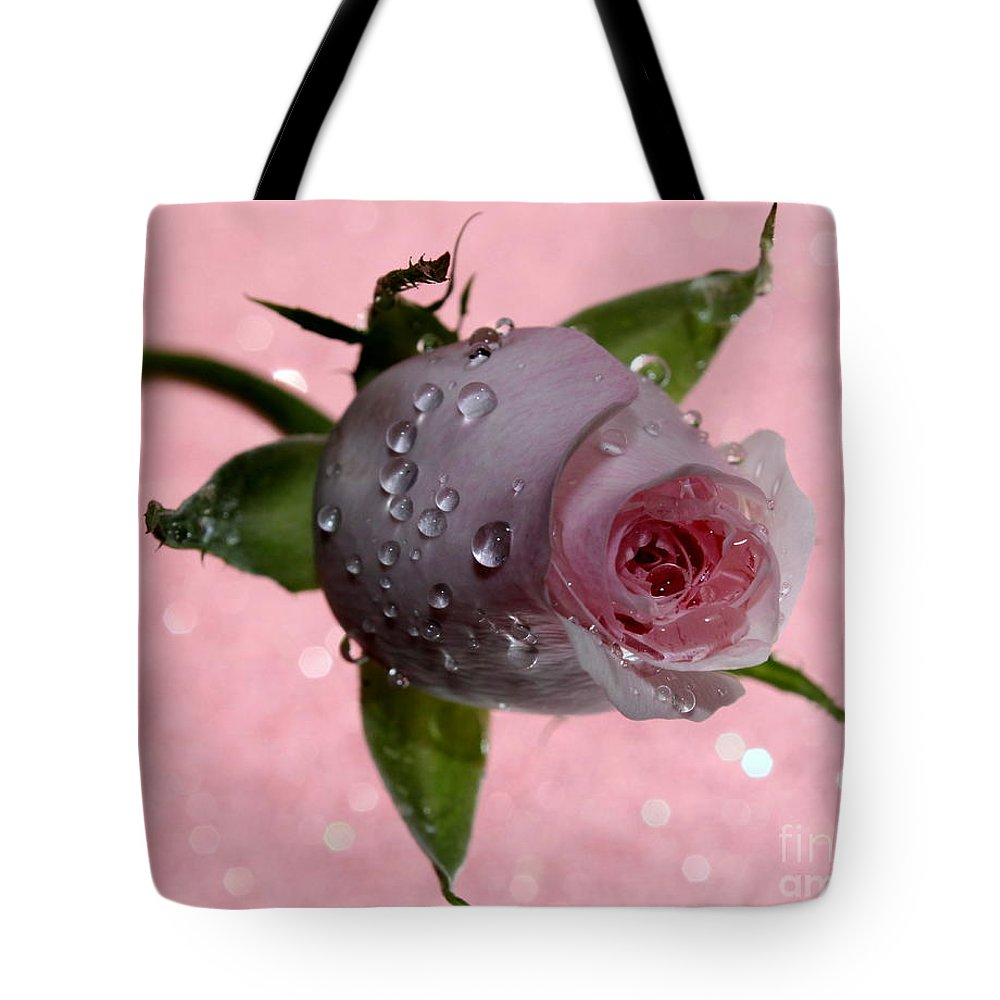 Rose Tote Bag featuring the photograph Rekindled Love by Krissy Katsimbras