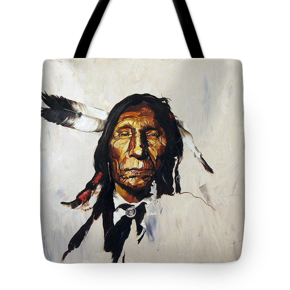 Southwest Art Tote Bag featuring the painting Remember by J W Baker