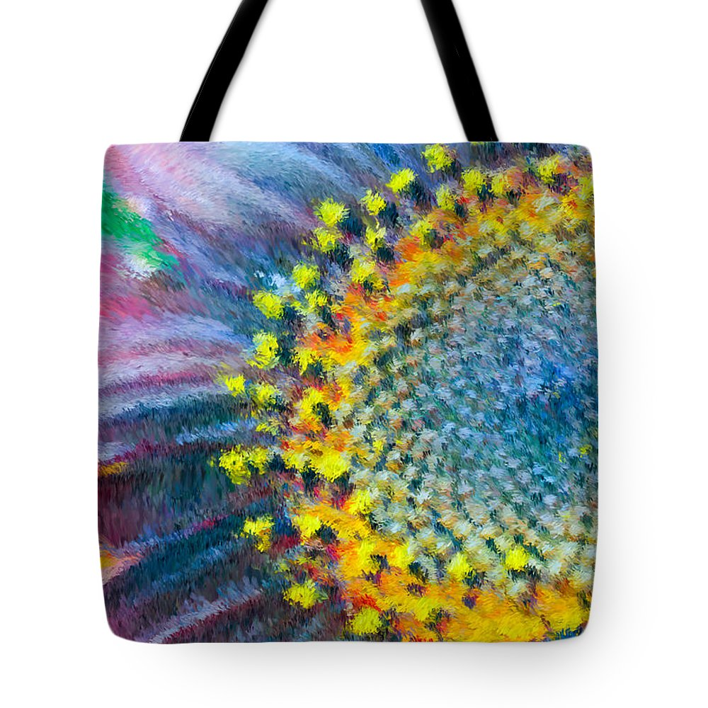 Yellow Tote Bag featuring the photograph Remembering You by Heidi Smith