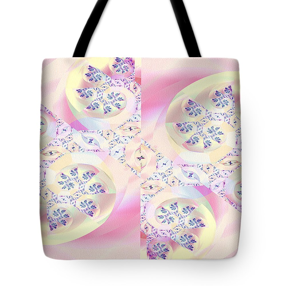 Digital Tote Bag featuring the digital art Remembrance by Richard Kelly