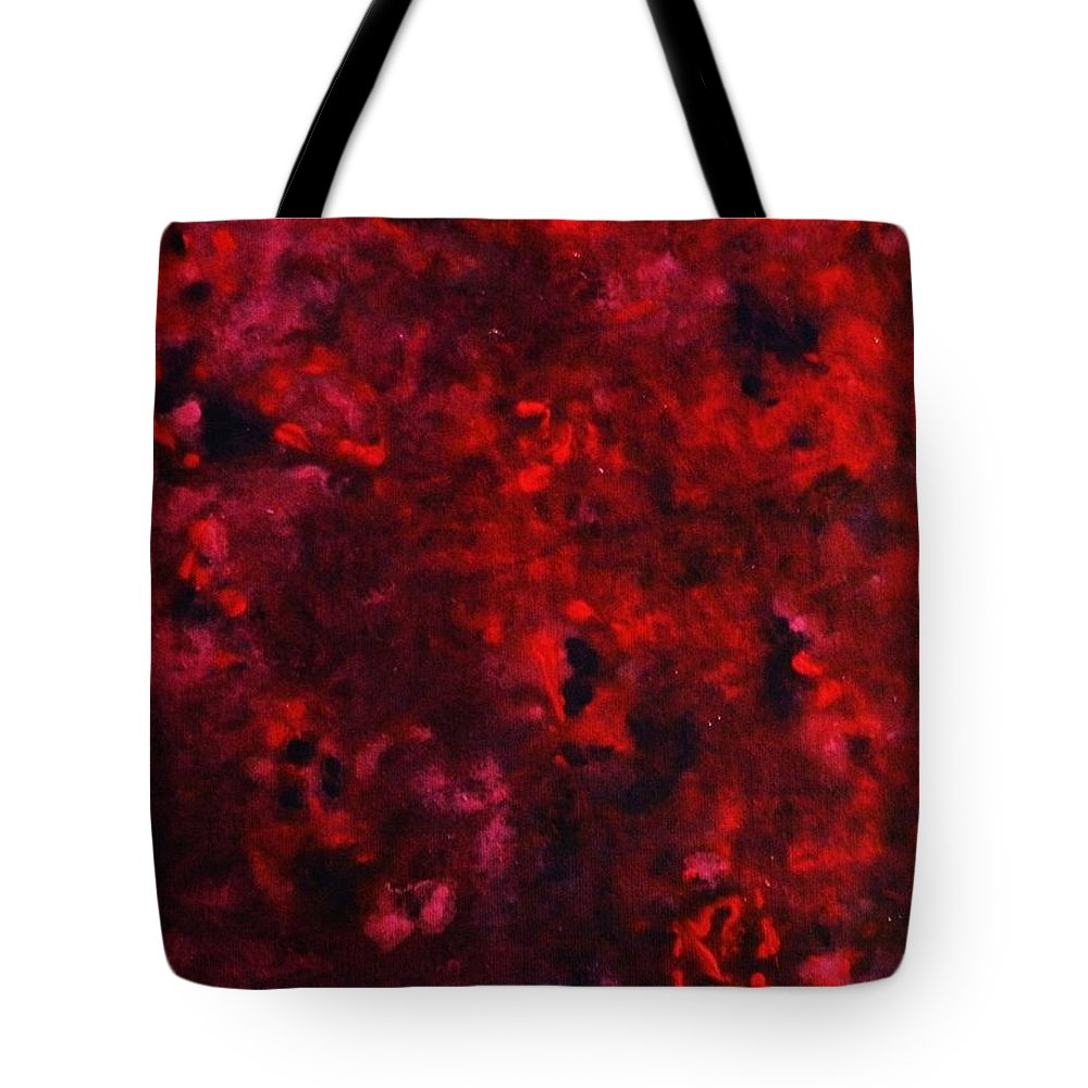 Acrylic Tote Bag featuring the painting Remembrance by Todd Hoover