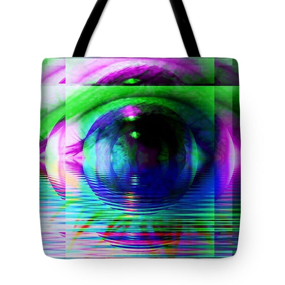 Subjective Digital Art Tote Bags