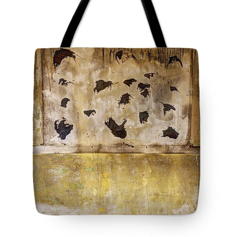 Room Tote Bag featuring the photograph Removed by Margie Hurwich