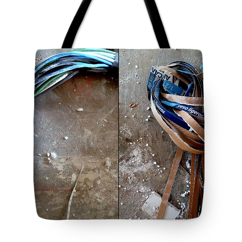 Renovation Tote Bag featuring the photograph Renovation Wonderland 2 by Marlene Burns
