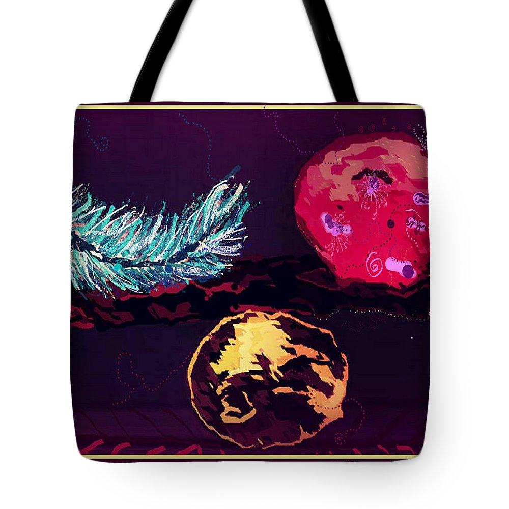 Reconciliation Tote Bag featuring the digital art Respect by Jaahda Jinnah