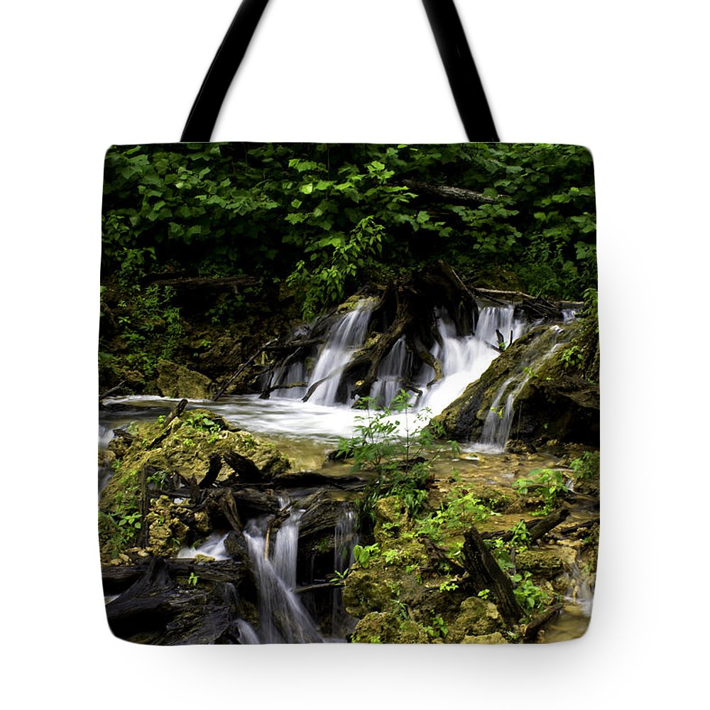 Rural Tote Bag featuring the photograph Restless Water by Ken Frischkorn
