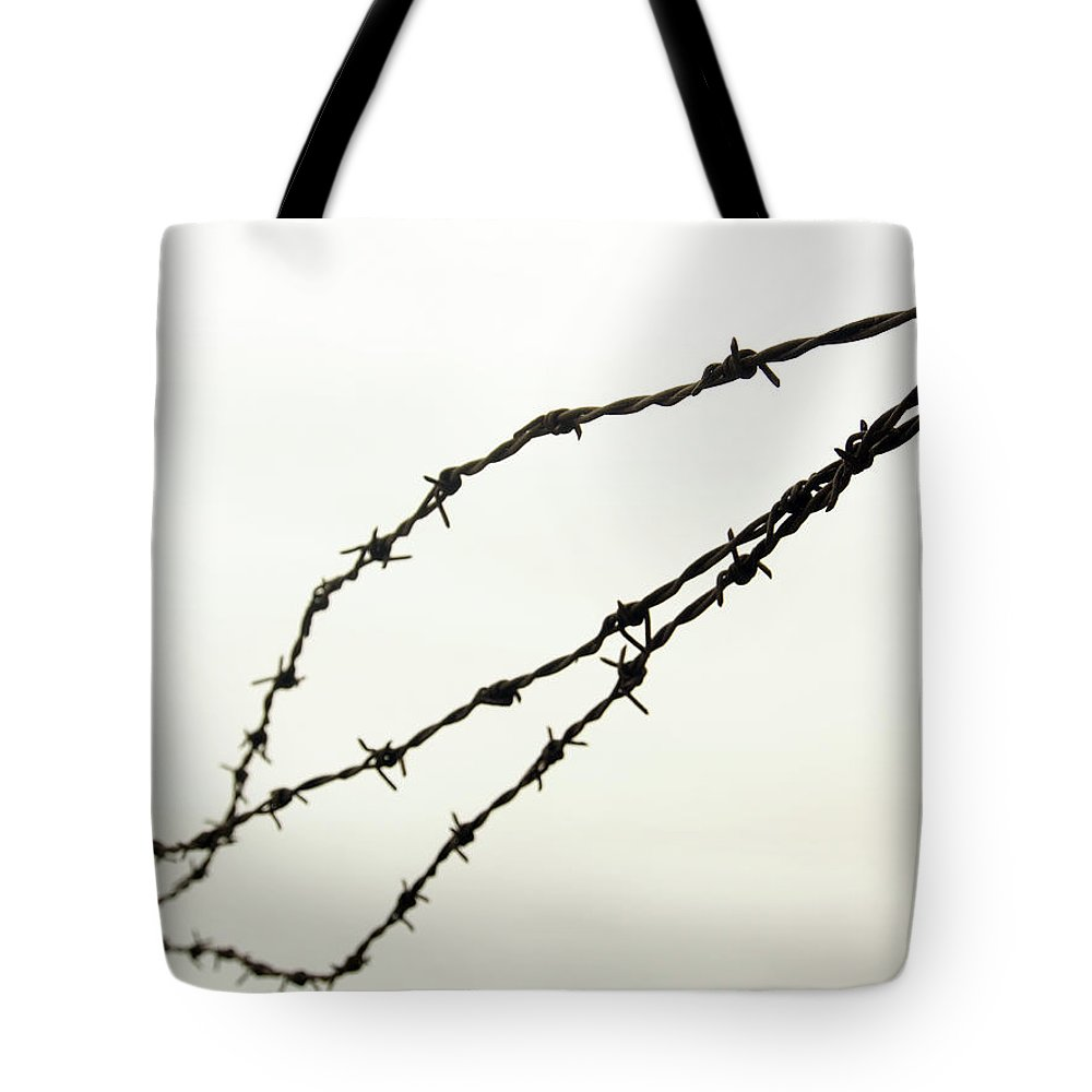 Restricted Tote Bag featuring the photograph Restricted by Kaleidoscopik Photography