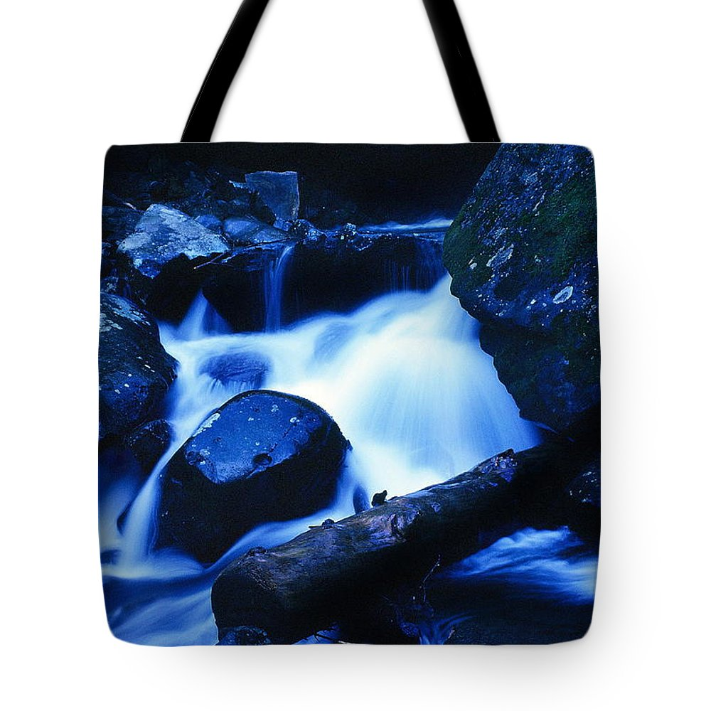 Fine Art Tote Bag featuring the photograph Rhapsody In Blue by Rodney Lee Williams