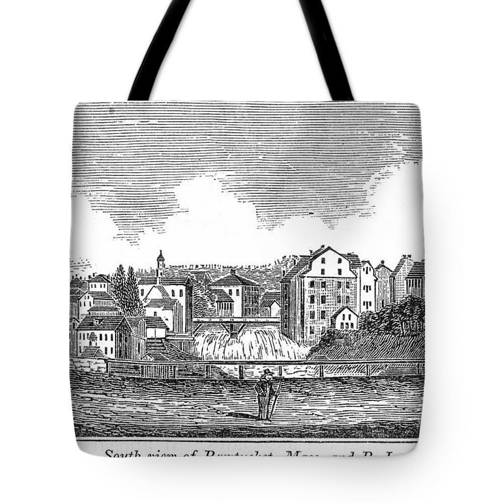 1839 Tote Bag featuring the painting Rhode Island, Usa, 1839 by Granger